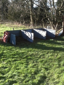 New compost bays